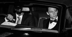 Tom Hiddleston #ESTheatreAwards He arrived in a Jaguar, all the rest in Audi's Great pic courtesy of @IbsanRaefSiddiq.
