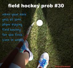 Field hockey problems