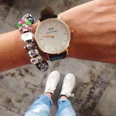All time favourites #favourite #style #fashion #trendbookcz #trollbeads #danielwellington #watch #converse #rippedjeans #czech #iphone #instaphoto #potd #photooftheday #cz #dnesnosim #jeans #love #fromwhereistand #whereistand