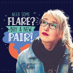 "Nothing says, ""I'm ready to spice things up!"" like a new pair of glasses! COME SEE US and we'll help you pick out the perfect frames you've been looking for! #loveyourface #4eyes #jewelryforyourface #lifeframed #fashion #hey4eyes #eyecareassociates #ecaflagstaff #optometrist #flagstaffoptometrist #drmcquivey #drmeyer #drgrimh #flagstaff #glasses #sunglasses #contacts #flagstaffeyedoctor"