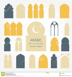 arabic-door-window-illustrations-vector-silhouette-39795005.jpg 1,300×1,390 pixels