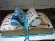 Resultado de imagem para bolo livro