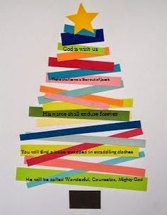 ideas quotes christmas bible sunday school for 2019 Christian Christmas Crafts, Christmas Art For Kids, Cute Christmas Decorations, Preschool Christmas Crafts, Christian Crafts, Nativity Crafts, Church Christmas Craft, Christmas Tree, Christmas Activities