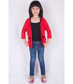 spice - Rubby red cardigan