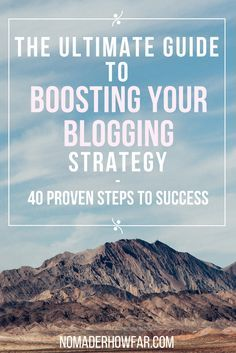 The Ultimate Guide To Boosting Your Blogging Strategy (scheduled via http://www.tailwindapp.com?utm_source=pinterest&utm_medium=twpin&utm_content=post82853791&utm_campaign=scheduler_attribution)