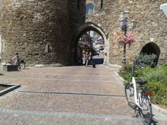 Entrance of the city Ahrweiler in Ahrtal Germany
