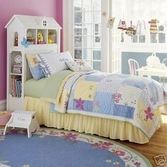 I would love to make this Dollhouse Headboard for Trilly.