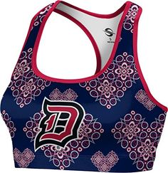 ProSphere Womens Duquesne University Foxy Sports Bra XXL *** Click on the image for additional details.