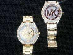 #mk Michael Kors Watch, Watches, How To Make, Accessories, Fashion, Moda, Wristwatches, Fashion Styles, Clocks