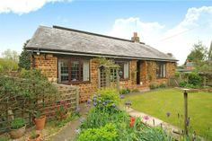 4 bedroom bungalow for sale in The Crescent, Pattishall - 400 - bungalow and barn, drive by