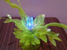 Best Out of Waste Plastic Mini Decorative lamp