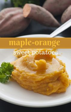 Rachael Ray shared a solution that can help you dress up your sweet potatoes without too much fat or calories. Get her Maple-Orange Sweet Potatoes Recipe. http://www.recapo.com/rachael-ray-show/rachael-ray-recipes/rachael-ray-thanksgiving-maple-orange-sweet-potatoes-recipe/