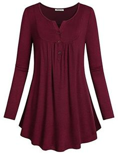 Looking for SeSe Code Women's Crewneck Long Sleeve Floral Shirts Flared Casual Tunic Tops(FBA) ? Check out our picks for the SeSe Code Women's Crewneck Long Sleeve Floral Shirts Flared Casual Tunic Tops(FBA) from the popular stores - all in one. Loose Tops, Crop Tops, Long Sleeve Tops, Long Sleeve Shirts, Short Sleeves, Stil Inspiration, Look Plus Size, Flare Top, Blouses For Women