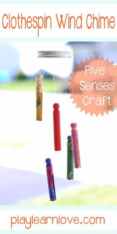 Easy Wind Chime Kids Craft [Contributed by Play Learn Love]