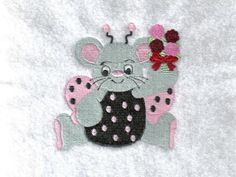 Miss Val Mouse Machine Embroidery Designs http://www.designsbysick.com/details/missvalmouse