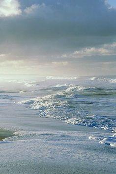 Shells on the beach - chasingrainbowsforever: Colors ~ Soft Blues