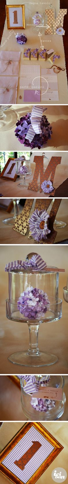 Wedding suite lavanda + bronzo by iciban