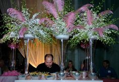 pink feather decor - Google Search
