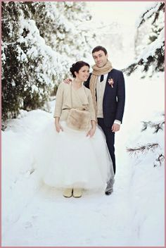 - WEDDINGS - Una romántica boda de invierno.