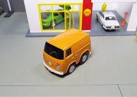 Tomytec Choro Q Zero Z-33c NGK Racing Service Volkswagen VW Micro Bus Pull Back