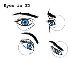 portrait Drawing Tutorial - How to draw - Drawing different kinds of Eyes