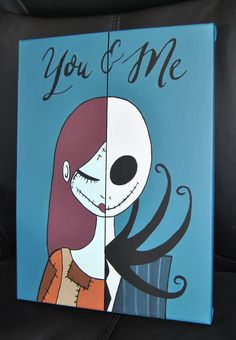 Nightmare before Christmas Jack Skellington Sally by mamashpey1