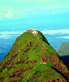 Adams Peak ( Sri Pada ) in Sri Lanka   ( have done the summit twice 2000 and 2001 )