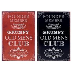 Headlines Tin Plaque Grumpy Man Chalkboard Quotes, Art Quotes, Tin, Happy, Gifts, Presents, Pewter, Ser Feliz, Favors