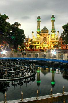Masjid Jami' Kota Malang, Jawa Timur, Indonesia
