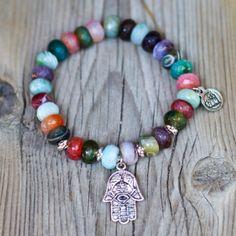 Zia - Fay with Love Beaded Bracelets, Agates, Love, Jewelry, Bangle Bracelets, Accessories, Jewerly, Amor, Jewlery