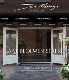 Jack mensinga florist in Leusden, The Netherlands. http://www.jackmensinga.nl/