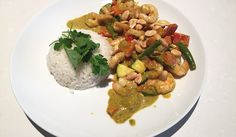 Gele curry met garnalen - Karlijnskitchen.com