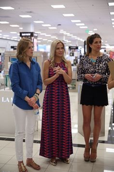 Fashion Bloggers from the Belk Southern Style Summit enjoy some friendly competition in the Belk Style Challenge during Charleston Fashion Week 2015 #CHSFW #BelkScene