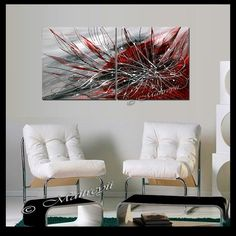 large artwork abstract paintings red abstract modern art on canvas original art deco oversize artwork by maitreyii