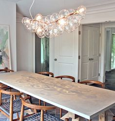This Is The Light Fixture That I Saw A While Ago Liked And Mentioned Bubble ChandelierDining