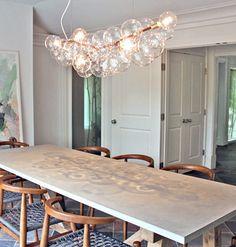 Diy bubble chandelier pinterest chandeliers lights and interiors wil je graag styling advies voor je keuken of eetkamer kom dan kijken op de website littledeer wonen interieur inspiratie living styling aloadofball Gallery