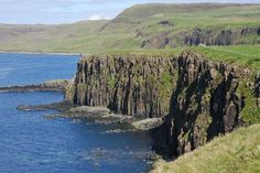 The Uamh Oir or Cave of Gold is Skye's answer to Fingal's cave on Staffa. It gives a delightful short walk and is a great place for a picnic; however the final the pathless coastal slope down to it is very steep and dangerous, requiring great care. NB: We understand access via this route is currently unimpeded. However in the past there have been issues with a local crofter both putting up signs and intimidating walkers. The route as described was negotiated and agreed between the cr...