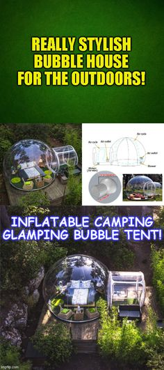 2 Person Single Tunnel Inflatable Outdoor Bubble House Comes With Choice of 110v or 220v Blower, Click Here For More Details. #campfiredinnerrecipes #campingmusthaves #hikingandcamping #campinggear #campingtents #campingglamping #campingfood #campinghacks #campingsurvival #campingmeals #bigtents #dutchovenrecipes #campingoregon #campingrecipes #cheapmattresses #tactical #offthegrid Oregon Camping, Camping Glamping, Camping Hacks, Camping List, Camping Meals, Outdoor Camping, Bubble Tent, Bubble House, Hiking Food