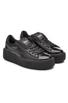 FENTY X PUMA Patent Leather Creeper Sneakers.  fentyxpuma  shoes   17cee5a2a0b8d