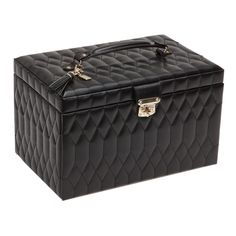 The Caroline is a signature WOLF jewelry case, defined by its distinctive…