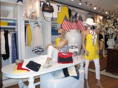 Can't make it to The Hamptons? Get a special look inside our Independence Day-ready Southampton store