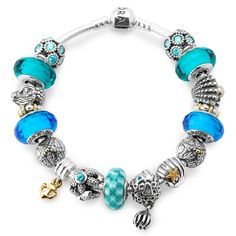 Pandora Bracelet Summer Bangle Love It Wish I Could Of