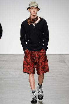 Iceberg Spring 2015 Menswear Collection Slideshow on Style.com