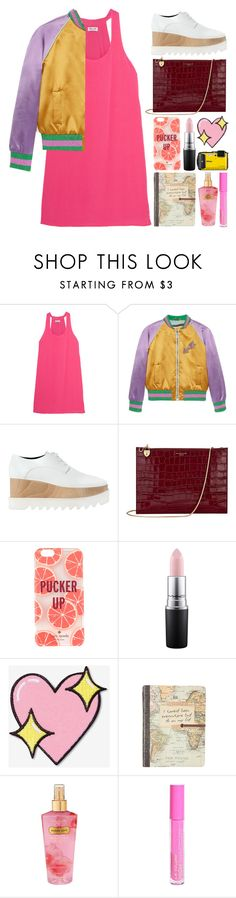 """4.556"" by katrina-yeow ❤ liked on Polyvore featuring Splendid, Gucci, STELLA McCARTNEY, Aspinal of London, Kate Spade, MAC Cosmetics, Big Bud Press and Victoria's Secret"