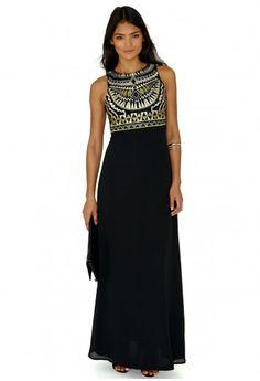 Missguided - Flo Premium Aztec Maxi Dress