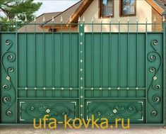 Iron Gate Design, House Gate Design, Luxury Homes Interior, Garage Doors, Shed, Outdoor Structures, Outdoor Decor, Home Decor, Tiny House Stairs