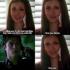 [4x10] when u realise this was the first time someone has ever told Damon they love him and meant it.