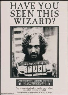 sirius black have you seen this wizard  so cool