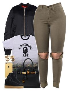 """""""Untitled #1598"""" by power-beauty ❤ liked on Polyvore featuring adidas Originals, Goldgenie, Hermès and NIKE"""