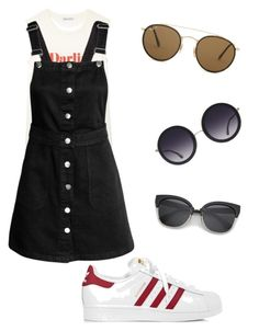 """""""Sunglasses"""" by redhead-from-denmark on Polyvore featuring adidas, Rebecca Minkoff, Ray-Ban and Alice + Olivia"""
